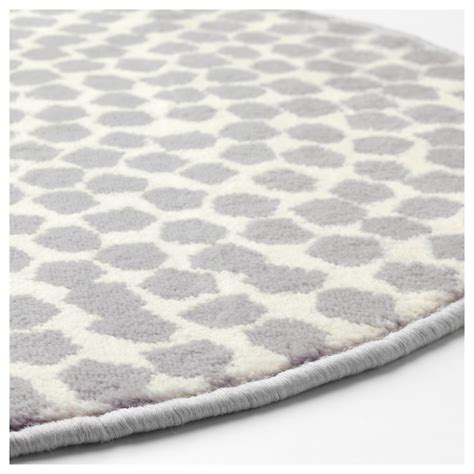 White And Grey Rugs by Fl 214 Ng Rug Low Pile White Grey 80 Cm