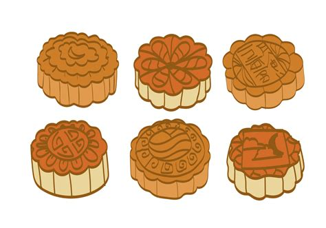 Traditional Chinese Designs moon cake vector download free vector art stock