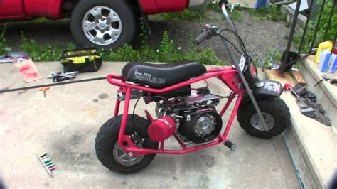 baja doodlebug mini bike reviews 95 baja minibike 97cc 25hp dirt bug doodlebug mini bike