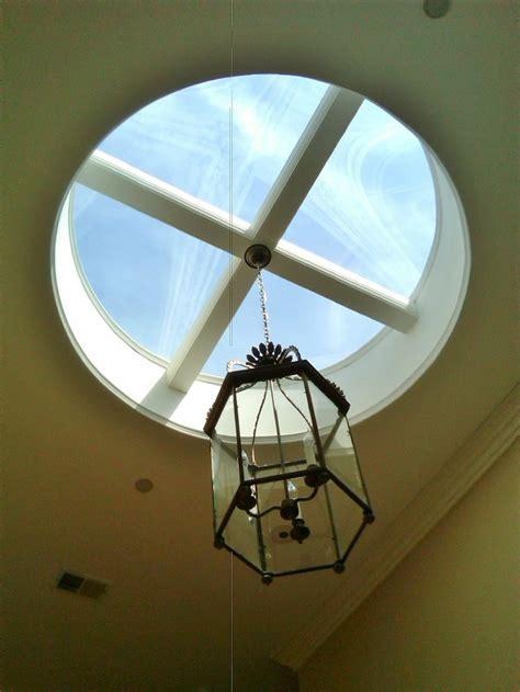 Skylight With Light Fixture Skylight Bathroom Redesign Pinterest Ideas Ideas Para And Lights