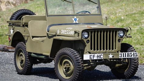 wwii jeep in wwii jeep found in crate set to cross greenwich auction