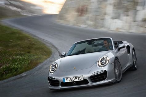 gold porsche convertible porsche unveils the 911 turbo and turbo s cabriolets
