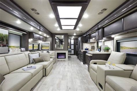 thor unveils  class  motorhome models revamped