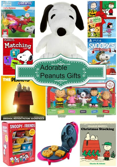 Peanuts Gifts - a collection of snoopy and peanuts gift ideas thrifty