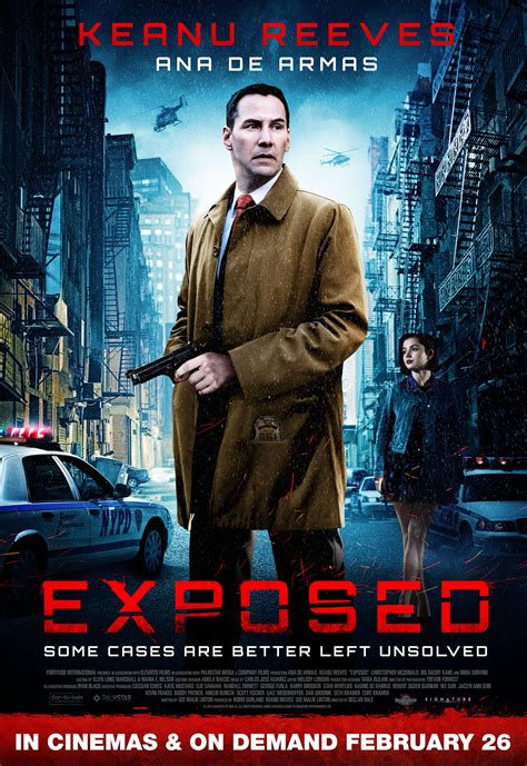 film exposed exposed 2016 keanu reeves ana de armas christopher