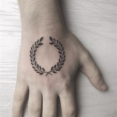 laurel wreath tattoo 21 wreath designs ideas design trends premium