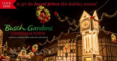 Town Busch Gardens Tickets by Busch Gardens Town Coupon Plus All The New