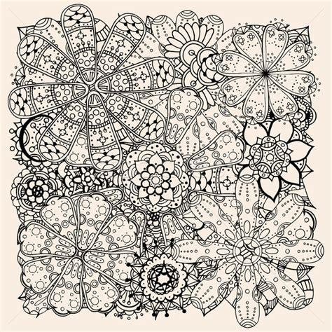 why doodle flowers doodle 183 blumen 183 ethnischen 183 floral 183 muster 183 kreis