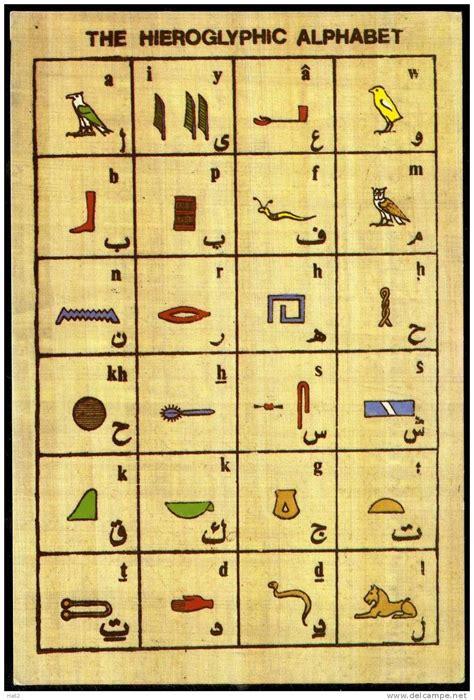 printable hieroglyphics alphabet hieroglyphics for kids wowkeyword com