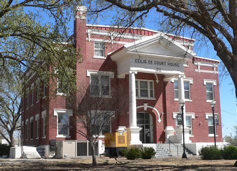 Ellis County Records File Ellis County Oklahoma Courthouse From Nw 2 Jpg