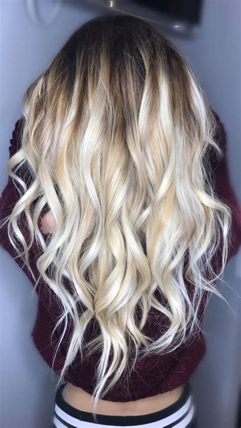 beautiful brunette hair with platinum highlights pictures hot trebd 2015 41 best long blonde thick hair inspiration images on