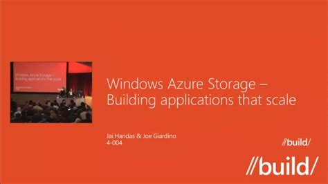 learning microsoft azure storage build large scale real world apps by effectively planning deploying and implementing azure storage solutions books windows azure storage what s coming best practices and
