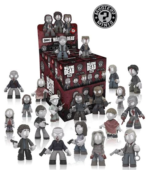 Walking Dead Sweepstakes Words 2017 - the walking dead quot in memoriam quot mystery minis figures com