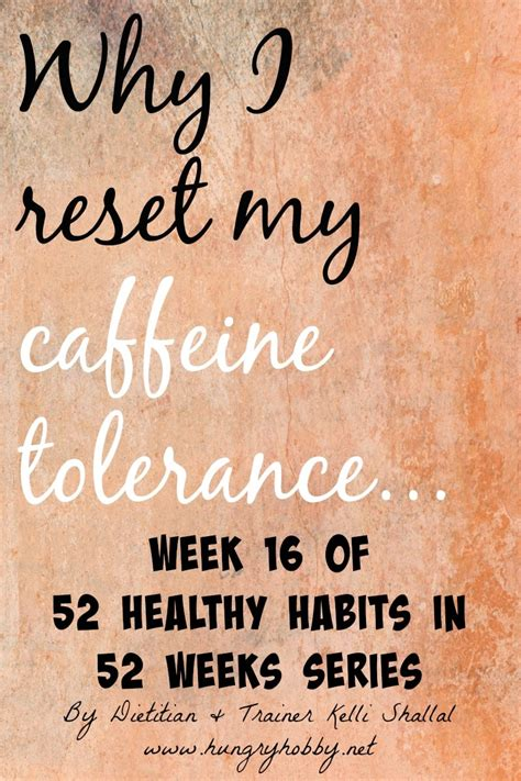 Detox From Caffeine To Reduce Tolerance by 21 Day Caffeine Detox