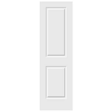 jeld wen 30 0 in x 80 in smooth 2 panel solid core jeld wen 30 in x 80 in c2020 primed 2 panel solid core