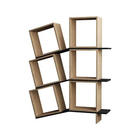 librerie cubi sloping libreria da parete cubi e mensole in legno bianco
