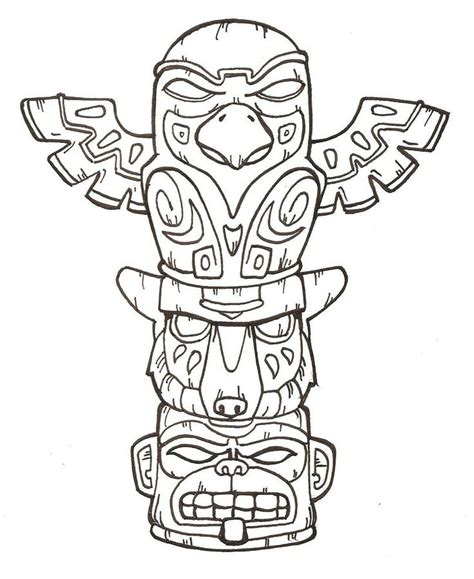 totem pole design template 25 best ideas about totem poles on totem pole