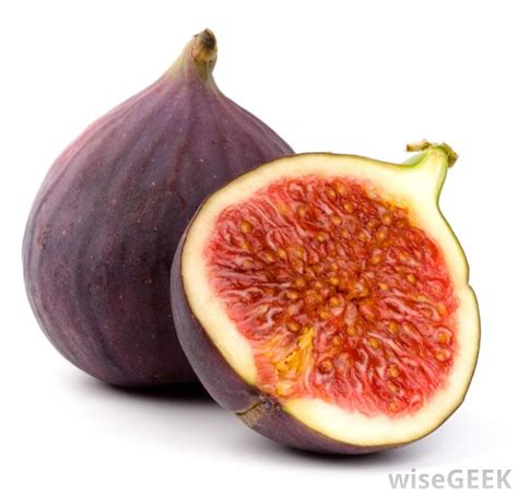 what are the different types of figs with pictures