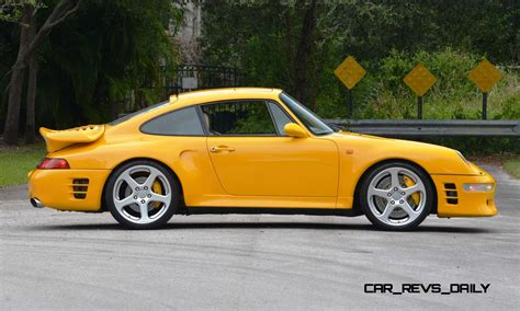 1997 Ruf Porsche 911 Turbo R Yellowbird