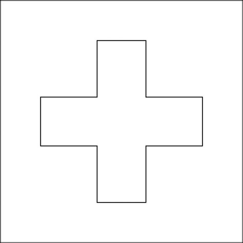 red cross outline clipart clipart suggest