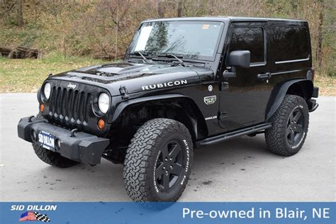 used jeep wrangler rubicon pre owned 2012 jeep wrangler rubicon convertible in blair