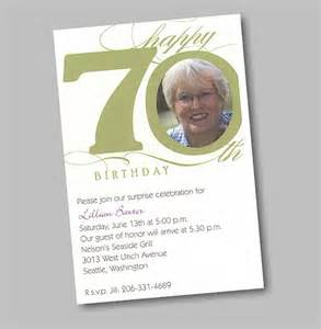 wording for 70th birthday invitation images