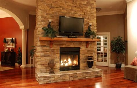 stacked fireplace the modern fireplace ideas for
