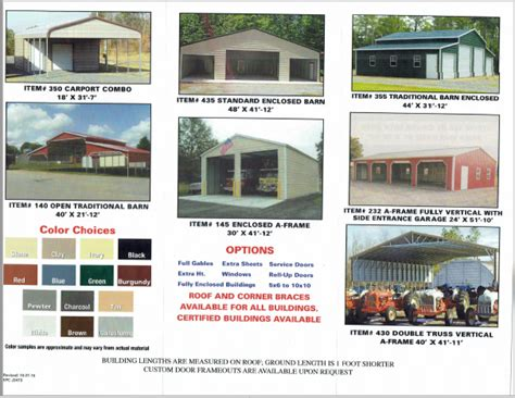 Pre Manufactured Carports by Certified Pre Manufactured Metal Buildings Carports