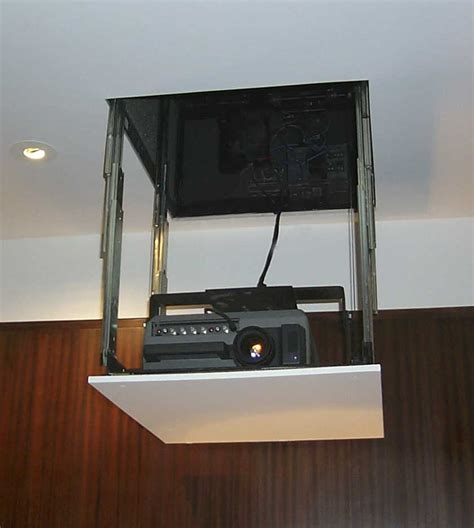 ceiling projector lift