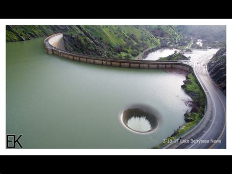 lake berryessa spillway california s glory hole spillway opens up for the first