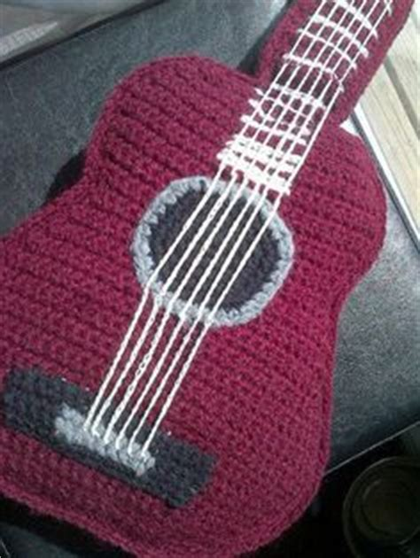 amigurumi guitar pattern 1000 images about y crochet musical instruments on