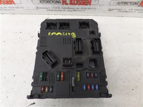 Fuse Box Numbering