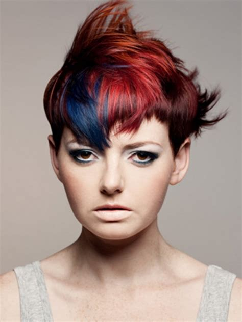 cool hairstyles and colours cool punk hair color ideas