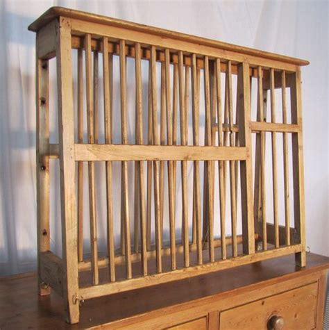 Pine Plate Racks For Kitchens by A Georgian Pine Plate Rack Antiques Atlas Plate Racks