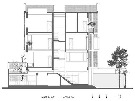 escaleras en corte frontal casas modernas con fachadas de celos 237 as planos de