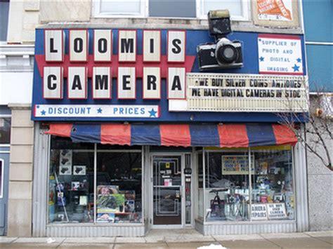 Loomis Post Office by Loomis Elyria Historical Hunt