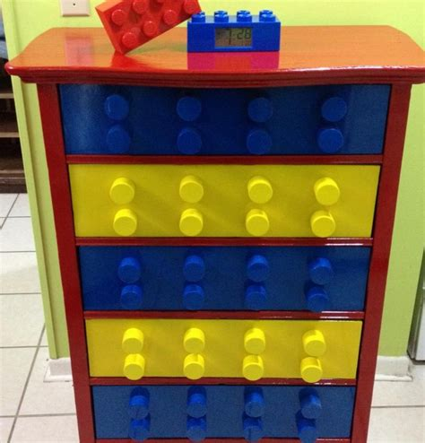 lego table with drawers diy build your own unique lego themed dresser diy lego dresser