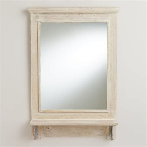 shelf wall mirror world market