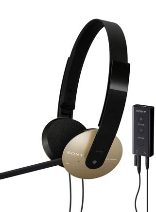 Headset Sony Dr 310 sony dr 350usb dr 320dpv and dr 310dp pc headsets itech news net