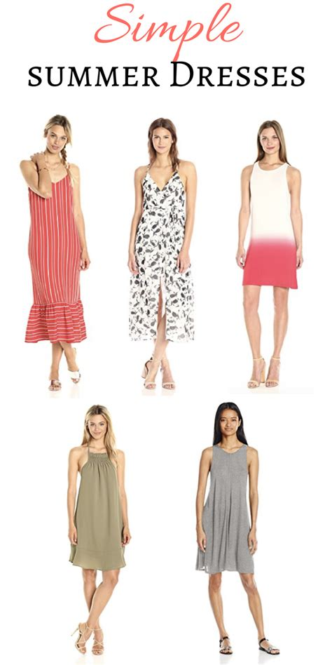 Fashion Find by Fashion Find Simple Summer Dresses