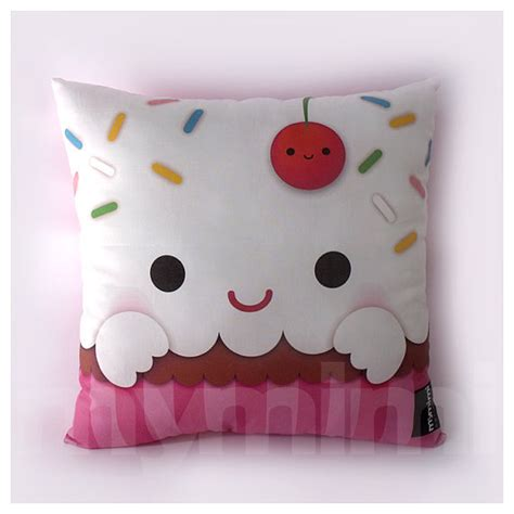 cupcake bedroom decor 12 x 12 cupcake pillow stuffed toy kids room decor