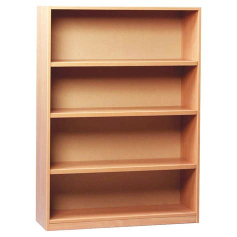 open shelf open bookcase with 3 shelves 1250h
