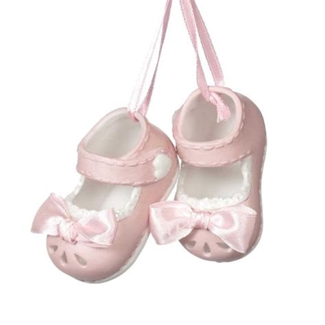 baby girl bootie ornament findgift com