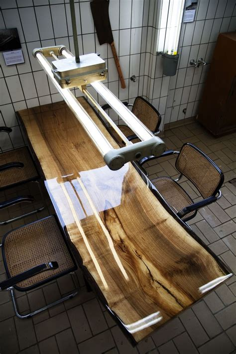 woodworking epoxy vanouds amsterdam table walnut wood and epoxy available
