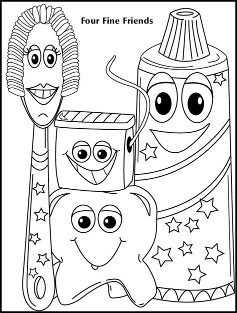 dental health coloring pages preschool dental coloring pages dental health coloring pages kids