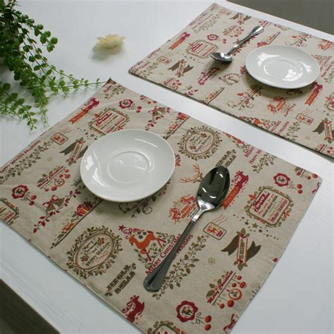 Dining Table Placemats Aliexpress Buy Placemat Dining Table Mat Kitchen Placemats For Table Decoration