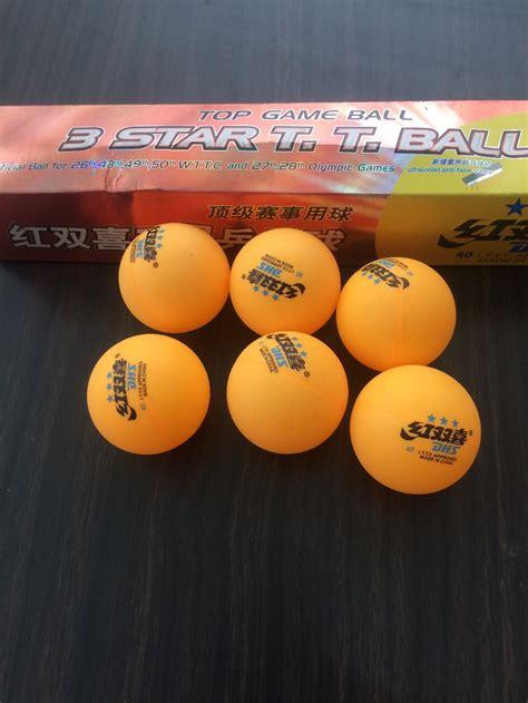Bola Tenis Meja Bola Ping Pong 3pcs jual bola ping pong dhs bintang 3 di lapak eka sulis ekasulis24