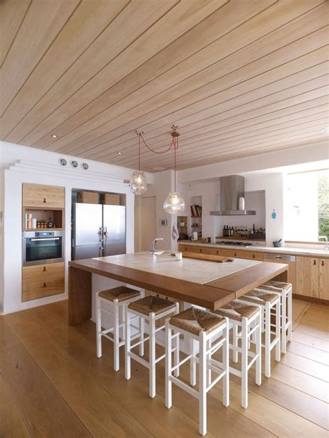 kitchen island with built in table interior design ideas architecture blog modern design
