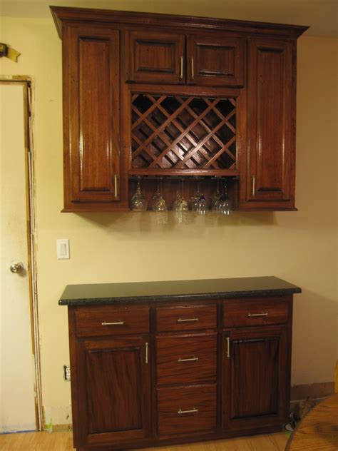 Kitchen Wine Rack Cabinet by Contemporary Kitchen With Cherry Wood Wall Cabinet Wine