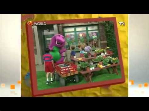 barney five kinds of credits pbs barney snack time credits pbs version